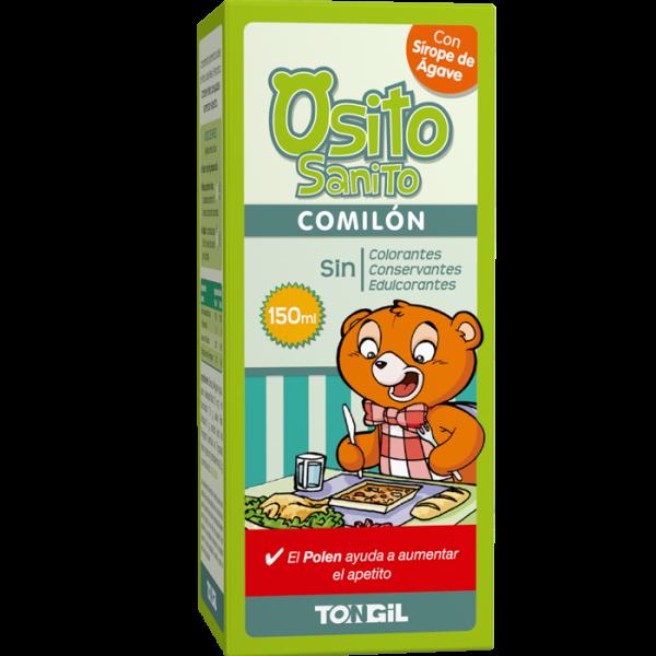 OSITO SANITO COMILON JARABE 200 ML. TONGIL