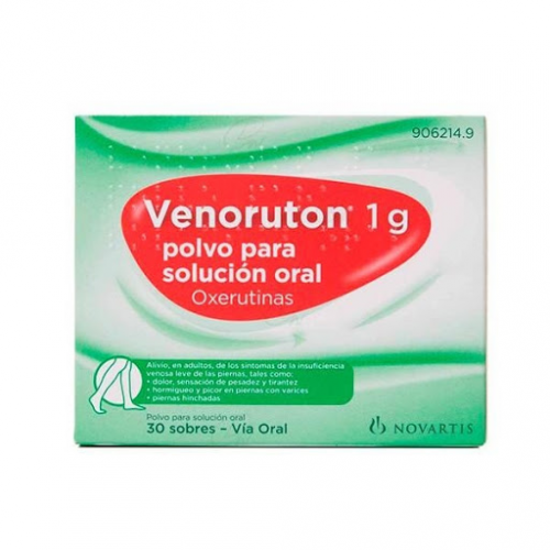 VENORUTON 1000 MG 30 SOBRES SABOR NARANJA STADA