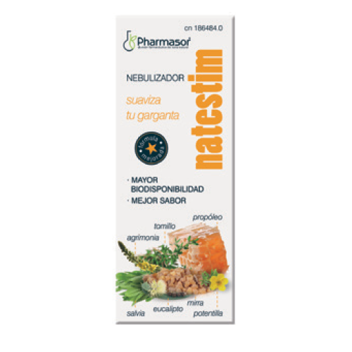 NATESTIM NEBULIZADOR 30ML HOMEOSOR
