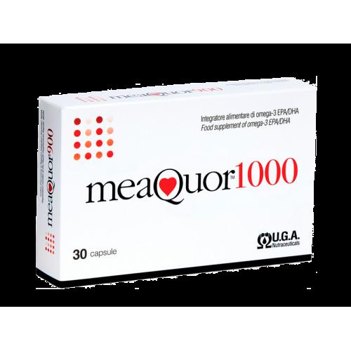MEAQUOR 1000 30 PERLAS UGA NUTRACEUTICALS