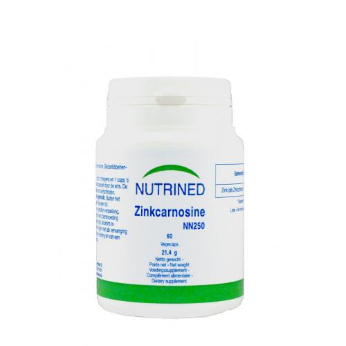 ZINKCARNOSINE 60 CAP NUTRINED
