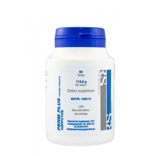 PERM PLUS 90 COATED TABLETS NUTRINED