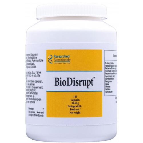 BIODISRUPT 120 CAP NUTRINED