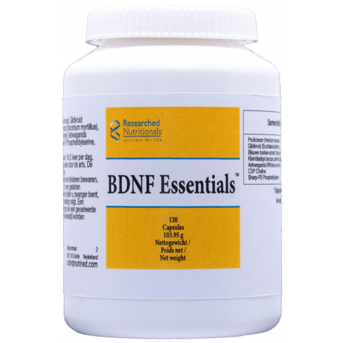 BDNF ESSENTIALS 120 CAP NUTRINED