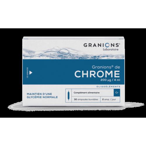 CROMO 30 AMPOLLAS GRANIONS