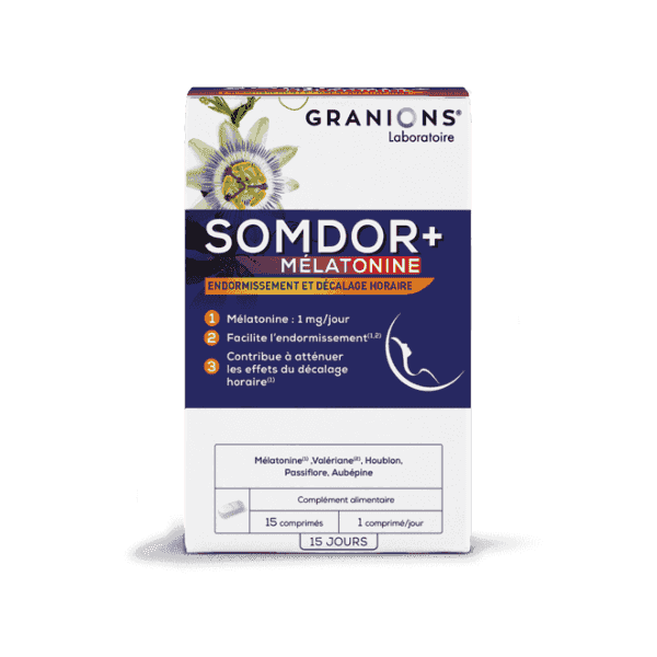 SOMDOR + MELATONINA 1MG 15 COMP GRANIONS