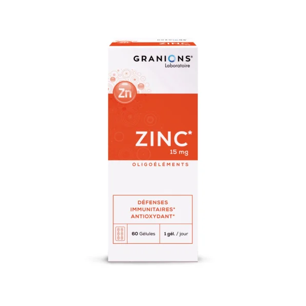 ZINC 60 CAPSULAS GRANIONS