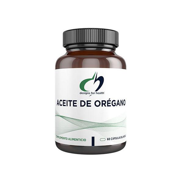 OREGANO ACEITE 60 CAP DESIGNS FOR HEALTH (NUTRINAT)