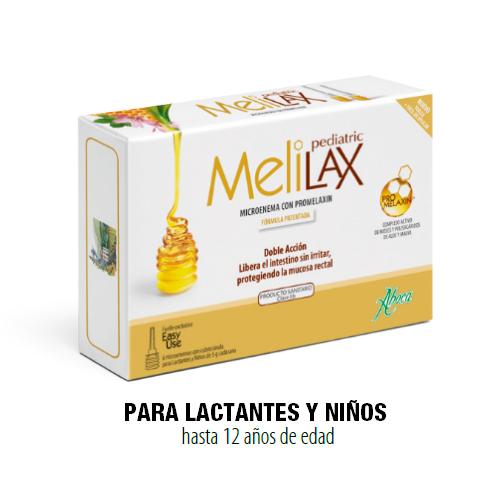 MELILAX PEDIATRIC - 6 MICROENEMAS DE 5 G ABOCA