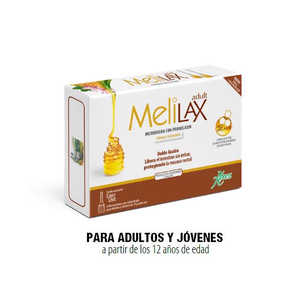 MELILAX ADULT - 6 MICROENEMAS 10 G ABOCA