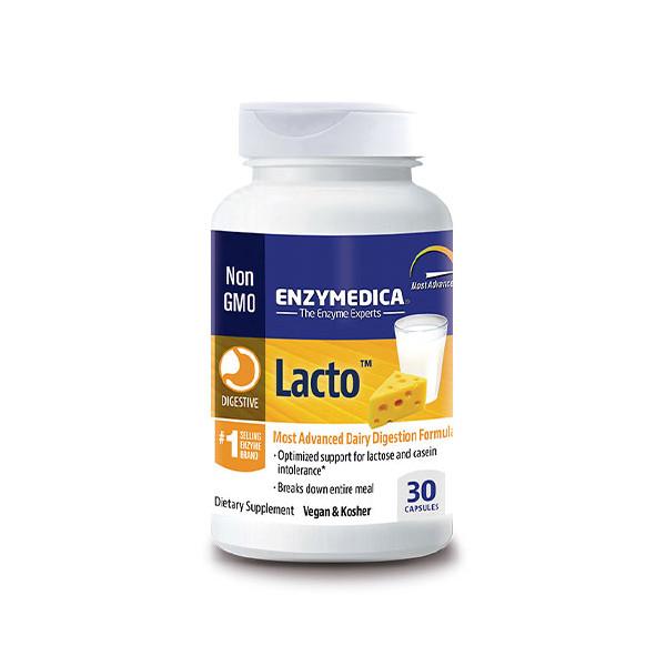 LACTO 30 CAP ENZYMEDICA (NUTRINAT)