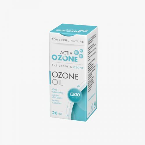 ACTIVOZONE OZONE OIL ACEITE OZONO 20 ML 1200 IP KEY BIOLOGICAL