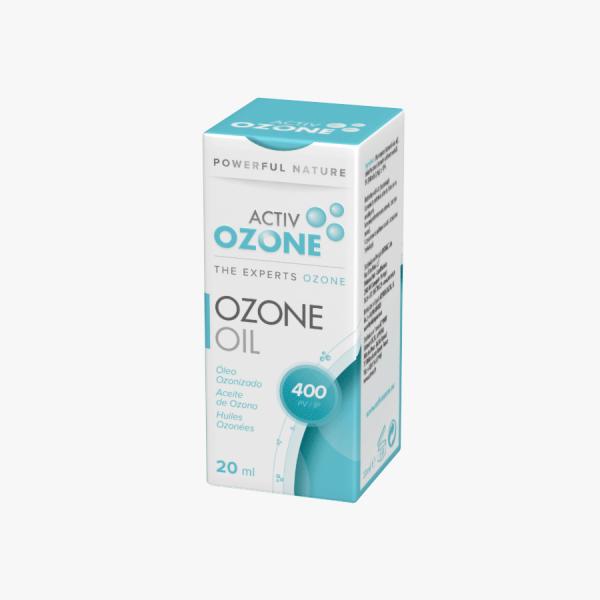 ACTIVOZONE OZONE OIL ACEITE OZONO 20 ML 400 IP KEY BIOLOGICAL