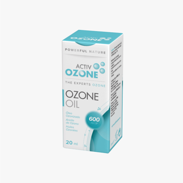 ACTIVOZONE OZONE OIL ACEITE OZONO 20 ML 600 IP KEY BIOLOGICAL