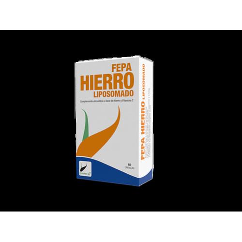 FEPA HIERRO LIPOSOMADO 30 MG 60 CAP FEPADIET