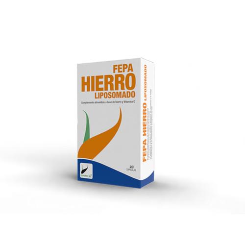 FEPA HIERRO LIPOSOMADO 30 MG 20 CAP FEPADIET