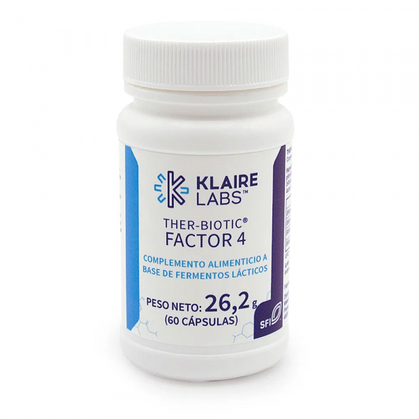 THER BIOTIC FACTOR 4 60 CAP KLAIRE LABS VALENTIA BIOLOGICS