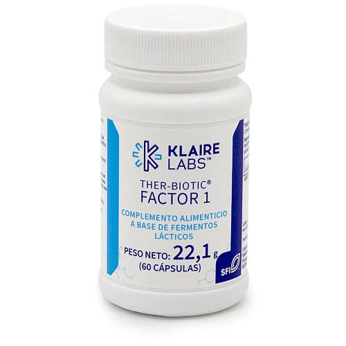 THER BIOTIC FACTOR 1 60 CAP KLAIRE LABS VALENTIA BIOLOGICS