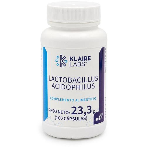 LACTOBACILLUS ACIDOPHILUS 100 CAP KLAIRE LABS VALENTIA BIOLOGICS