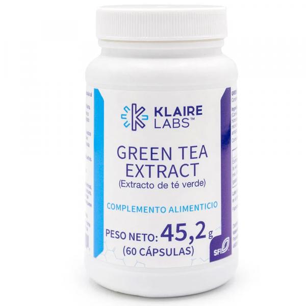 GREEN TEA EXTRACT 60 CAP KLAIRE LABS VALENTIA BIOLOGICS