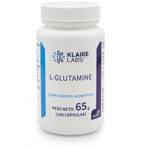 GLUTAMINA 500 MG 100 CAP KLAIRE LABES VALENTIA BIOLOGICS