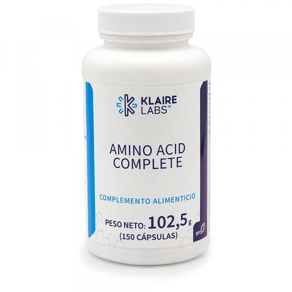 AMINO ACID COMPLETE 150 CAP KLAIRE VALENTIA BIOLOGICS