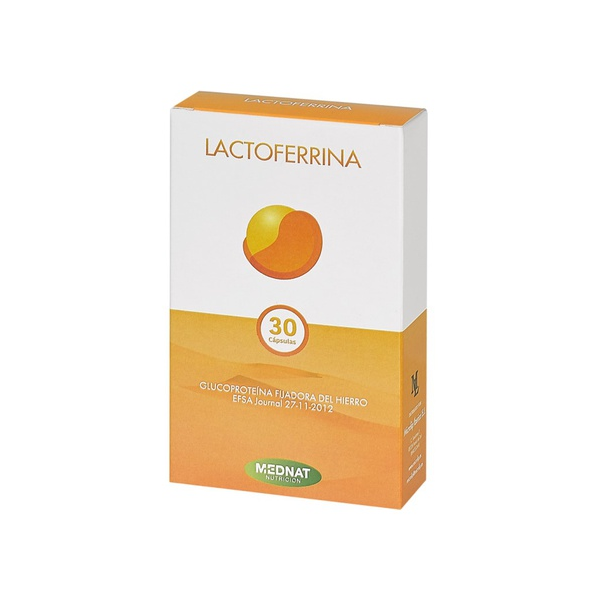 LACTOFERRINA 30 CAP MEDNAT