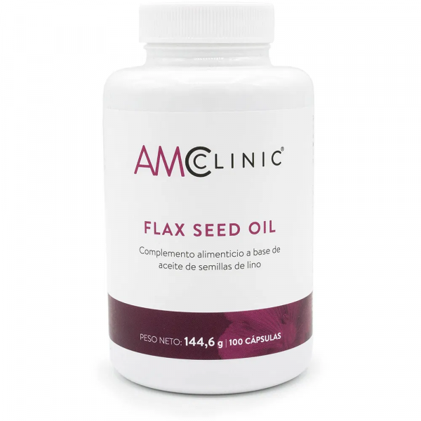 FLAX SEED OIL (ACEITE LINO) 100 CAP AMCLINIC