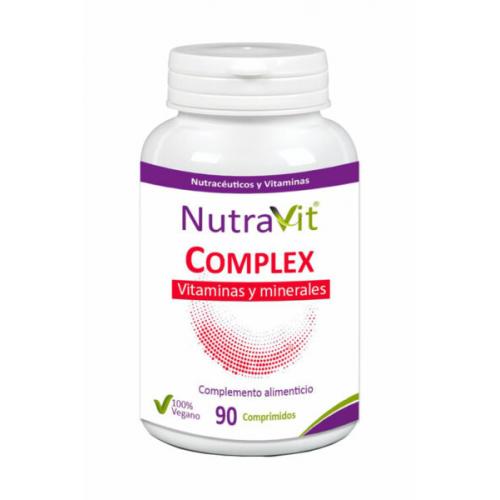 NUTRAVIT COMPLEX VITAMINAS Y MINERALES 90 COMP NUTRAVIT