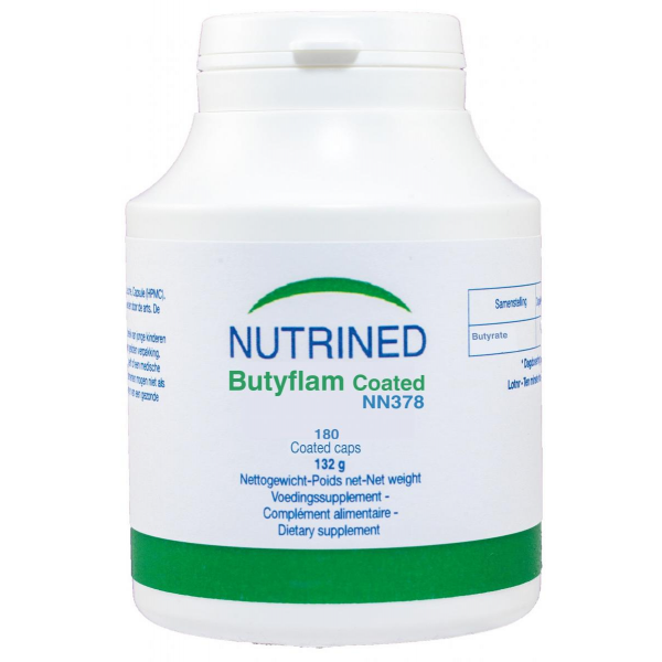 BUTYFLAM COATED 180 CAPS NUTRINED