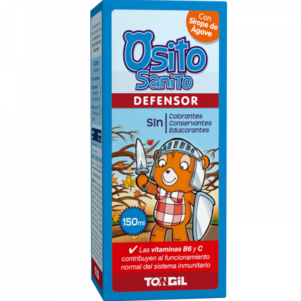 OSITO SANITO DEFENSOR JARABE 150 ML. TONGIL