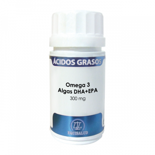 ACIDOS GRASOS OMEGA 3 ALGAS DHA-EPA 40 PERLAS EQUISALUD