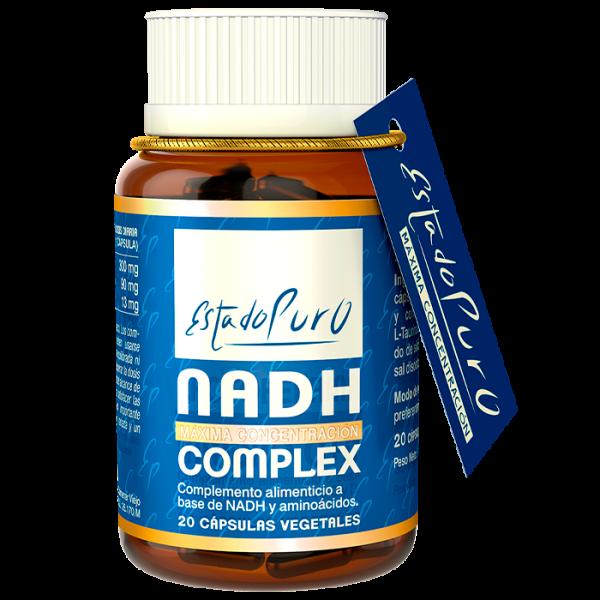 NADH COMPLEX 20 CAP ESTADO PURO TONGIL