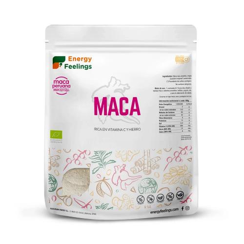 MACA POLVO ECO XXL PACK 1 KG ENERGY FRUITS