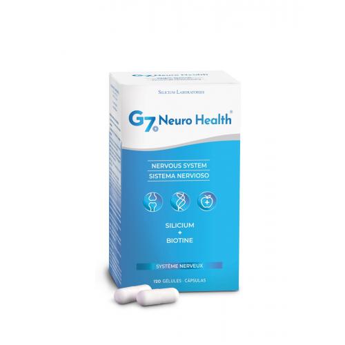 SILICIUM G7 NEURO HEALTH 120 CAP SILICIUM ESPAÑA