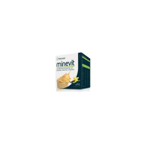 MINEVIT VAINILLA 15 SOBRES 30 G PHARMASOR