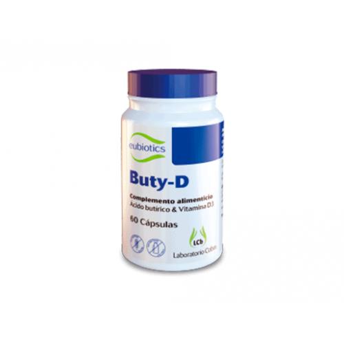 BUTY-D 60 CAP EUBIOTICS COBAS