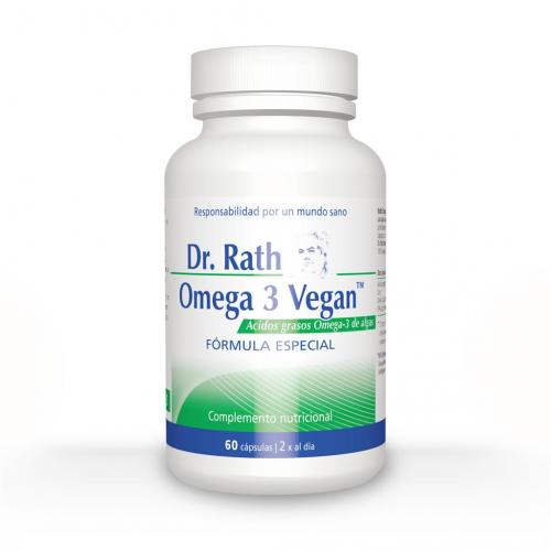 OMEGA 3 VEGAN (ALGAS) 60 CAPS DR. RATH