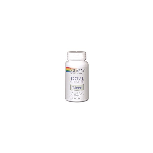 TOTAL CLEANSE LIVER 60 CAP SOLARAY