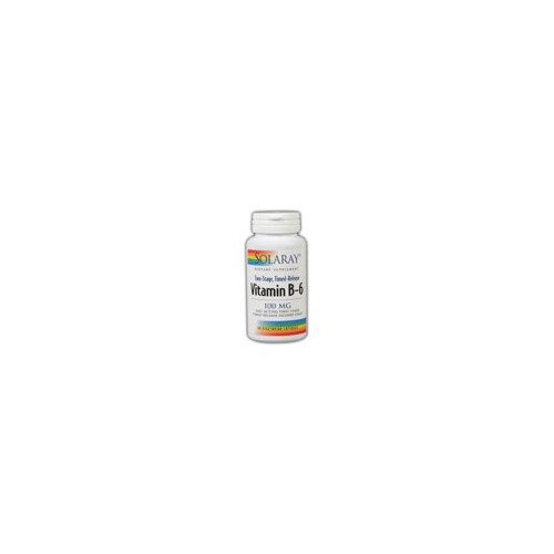 VITAMINA B-6 100 MG 60 CAP SOLARAY