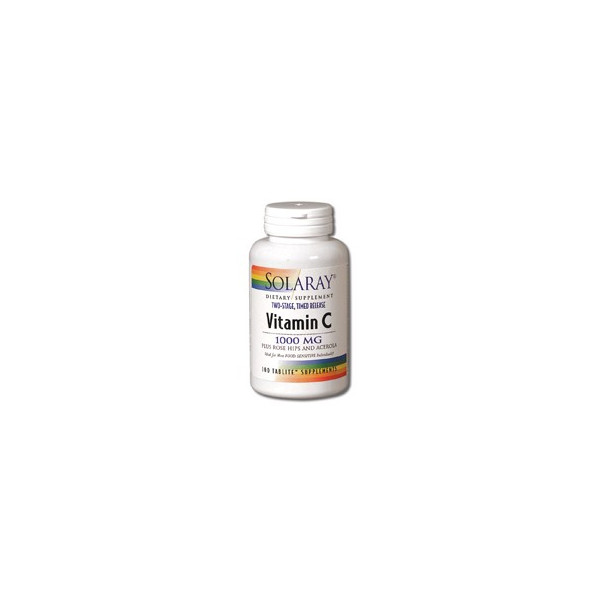 VITAMINA C 1000 MG 100 COMP SOLARAY