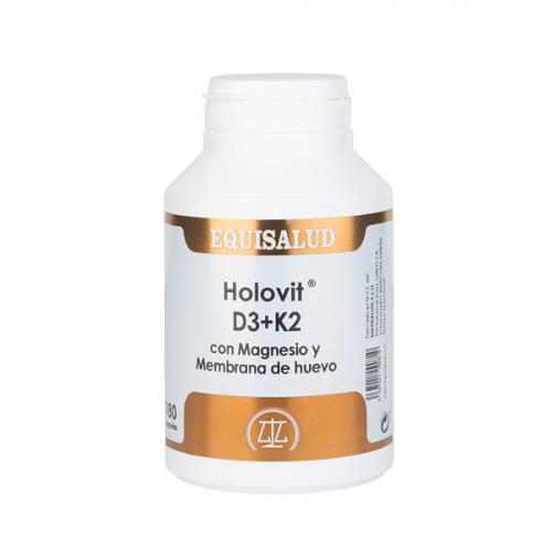HOLOVIT D3 K2 MAGNESIO MEMBRANA HUEVO 180 CAP EQUISALUD