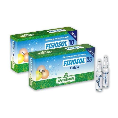 FISIOSOL 15 CU 20 AMP...