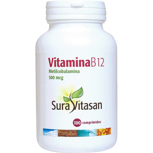 VITAMINA B12 500 MCG 100 COMP SURA VITASAN