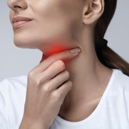 Suplementación dolor de garganta